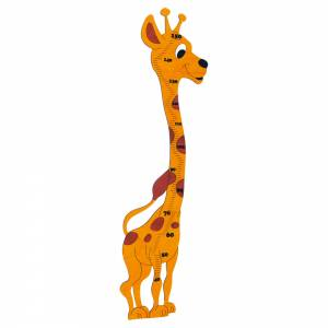 Growth chart – giraffe – maxi