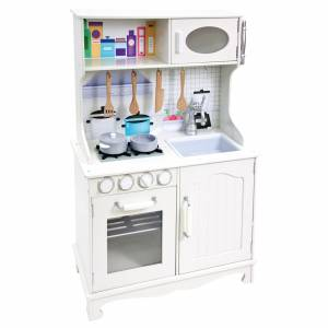 Play kitchen with acces.white