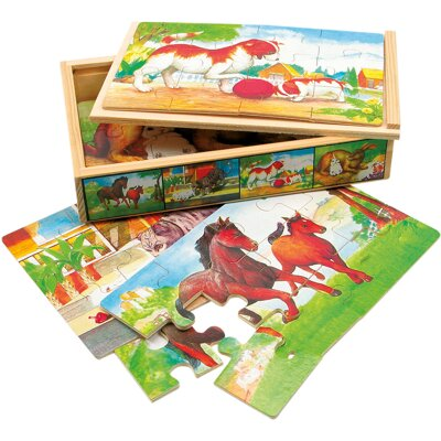 Puzzle Tiere, 48 Teile